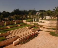 Villa San Martino - Vista panoramica del giardino