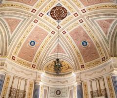 Villa Boscogrande - Affreschi originali della villa