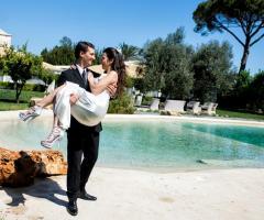 Gli sposi presso Masseria Pietrasole
