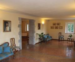 Villa Fabio - La sala di ingresso