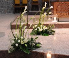 Fiori foglie e follie - Decorazioni per un matrimonio a Monza