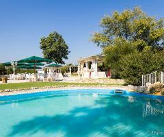 Villa Valente - La vista da una delle piscine