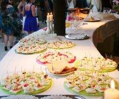 Poggio Ruppelt dal Tedesco 1930 - Il tavolo del buffet nuziale