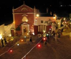 Masseria Torre Coccaro - Ricevimento di matrimonio serale in Masseria