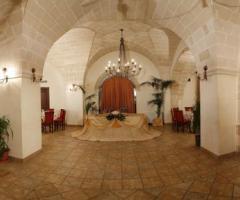 Sala interna della masseria