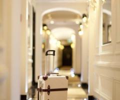 Hotel d'Inghilterra - Corridoio d'ingresso alle stanze