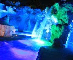 Giochi d'acqua luminosi