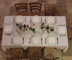 Masseria Casamassima - Il tavolo degli invitati