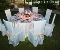 Villa Royal - Le Cascate - Tavoli rotondi per le nozze