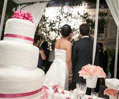 Foto della torta nuziale