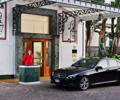 Royal Hotel Sanremo - L'entrata della location