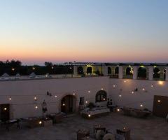 Masseria Casamassima - La location al tramonto