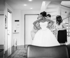 Dario Imparato Foto - L'abito della sposa