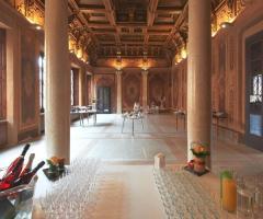 Palazzo Trocchi - La sala per gli aperitivi