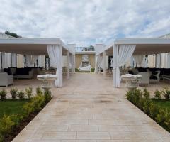 Tenuta Montenari - Gli spazi esterni della location