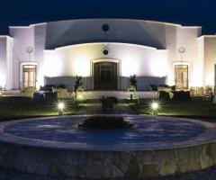 Borgo Ducale Brindisi - L'entrata vista di notte