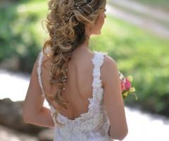 Le Rose di Zucchero Filato - Acconciatura sposa