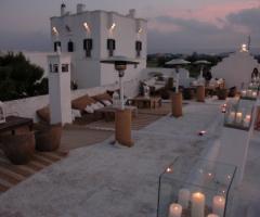 Lounge Terrazzo Marocco per le nozze
