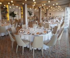 Grand Hotel Riviera - La sala ristorante interna