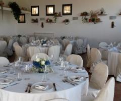 Borgo La Fratta - L'ampia sala interna
