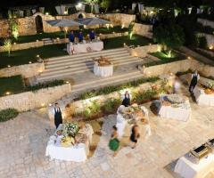 Villa San Martino - Il buffet all'aperto