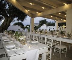 Casale del Murgese - Il patio degli ulivi