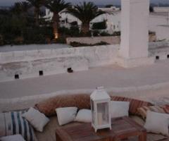 Terrazza Marocco per ricevere gli ospiti alle nozze