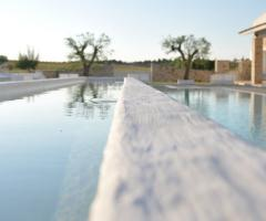 Prospettive dalla piscina
