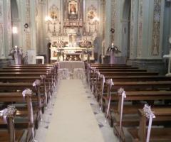 Fiori per la cerimonia di nozze a Bari