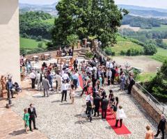 Castello di Cortanze - Panorama della terrazza