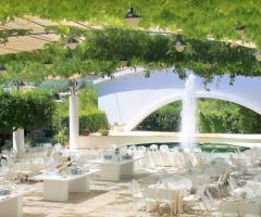 Grand Hotel La Chiusa di Chietri - Allestimento all'aperto