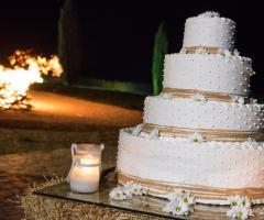 Masseria Torre di Nebbia - La torta nuziale