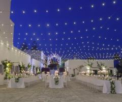 Masseria San Nicola - Sposarsi in Puglia di sera