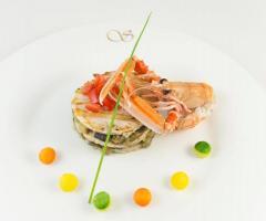 Relais il Santissimo -  Coreografie di pesce