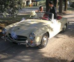 Noleggio Mercedes - Noleggio auto per il matrimonio ad Arezzo