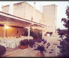 Masseria Cariello Nuovo - Allestimento all'esterno
