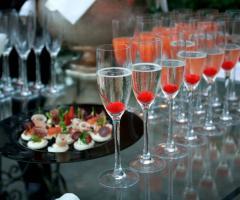Cocktail per il ricevimento di matrimonio
