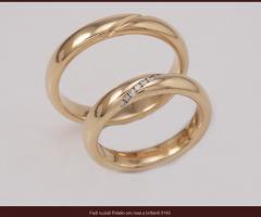 Biffi Gioielli - Fedi in oro giallo per le nozze