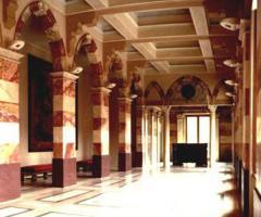 Palazzo Trecchi Le sale interne