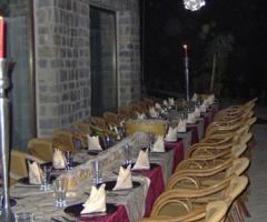 Torre in Pietra - Tavolo imperiale per il matrimonio