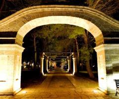 Antica Masseria Martuccio - Il viale di ingrasso