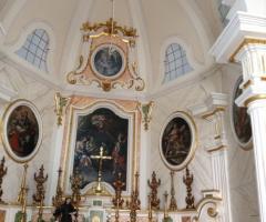 Chiesa della villa Casa Resta a Brindisi