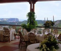 Tenuta Cigliano - Sala nella terrazza panoramica