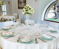 Villa Valente - Il tavolo degli invitati
