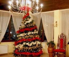 Ricevimento di matrimonio nel periodo di Natale