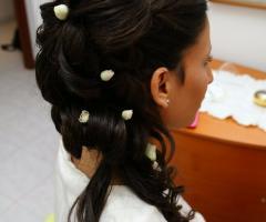 Rosa Laguardia Hair Style - Acconciatura per la sposa a Roma