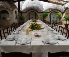 Masseria del Gelso Antico - Il tavolo imperiale per gli sposi