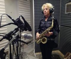 Sax Blond Letizia Brunetti - In sala registrazione