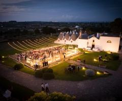 Masseria Luco - Il ricevimento di nozze di sera