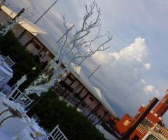 Decorazioni per il ricevimento di nozze